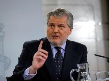 El ministro de Educación y portavoz del Gobierno, Iñigo Méndez de Vigo