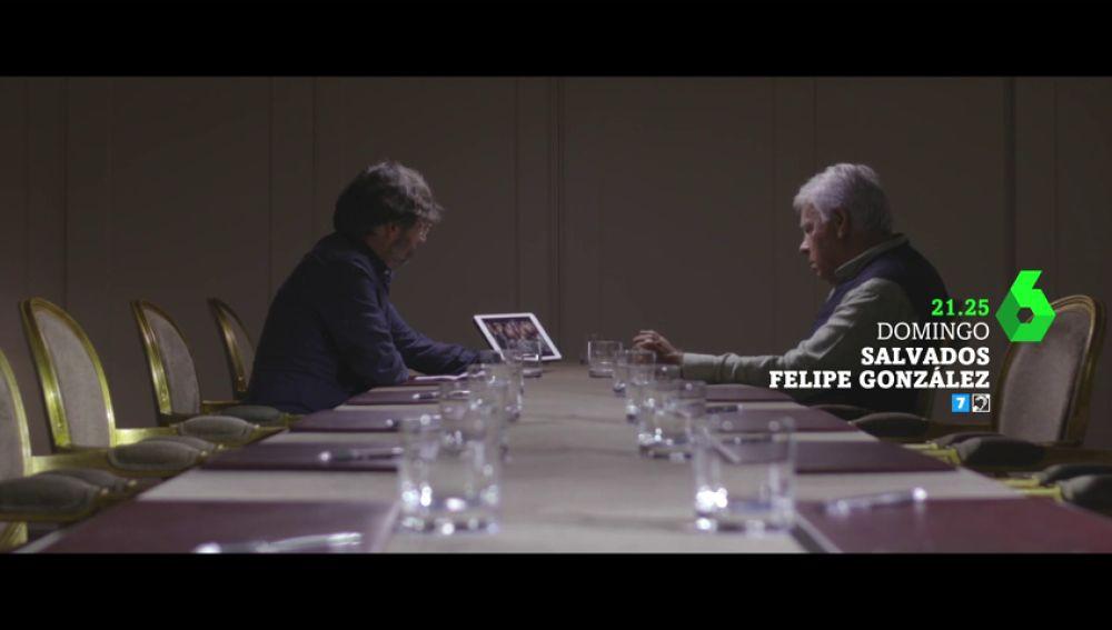 """Felipe González el domingo en Salvados: """"No lo comprendo. Me cuesta trabajo pensar que el ministro de Educación es novio de la muerte"""""""