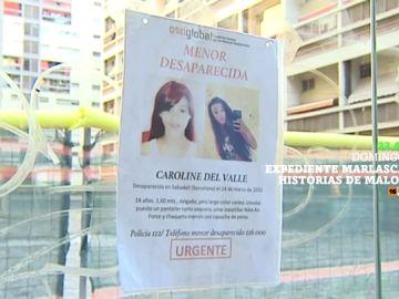 Expediente Marlasca analiza la investigación sobre la desaparición de Caroline del Valle, el domingo en laSexta