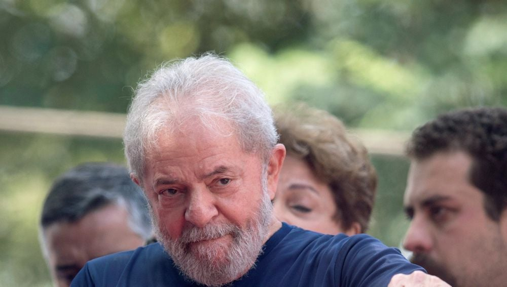 El expresidente brasileño Luiz Inacio Lula da Silva