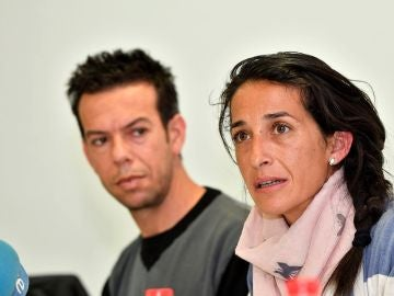 Los padres del niño Gabriel Cruz, Patricia Ramírez y Ángel Cruz