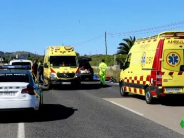 La conductora que atropelló a nueve ciclistas en Mallorca dice que solo se fumó un porro antes del accidente
