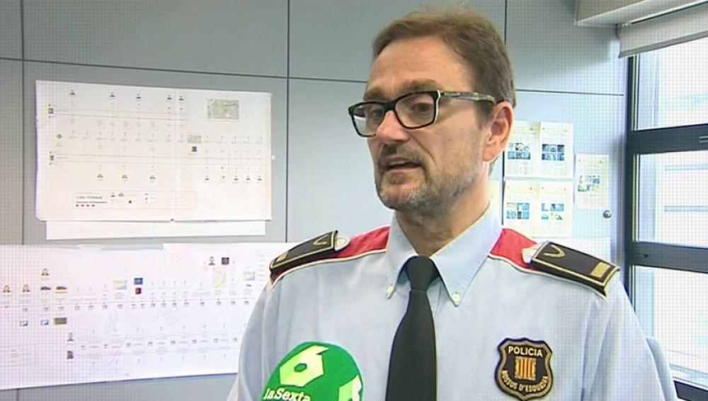 """El inspector jefe Jordi Domènech, sobre Caroline del Valle: """"Tenemos bastante información sobre lo que pudo pasar"""""""