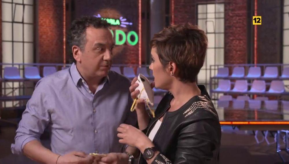 Cristina Pardo, 'evacuada' por Roberto Brasero en el estreno de Liarla Pardo; este domingo en laSexta
