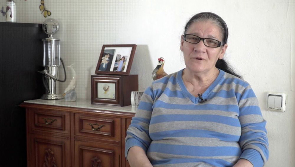 Teresa, abuela de Caroline del Valle