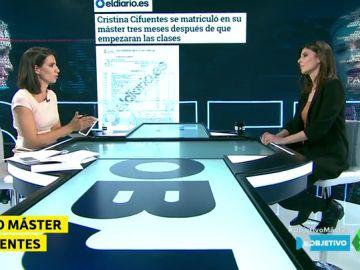 """Raquel Ejerique: """"Los documentos que prueban la inocencia de Cifuentes son otros, y aún no los ha presentado"""""""