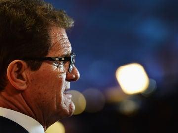 Fabio Capello, en una entrega de premios