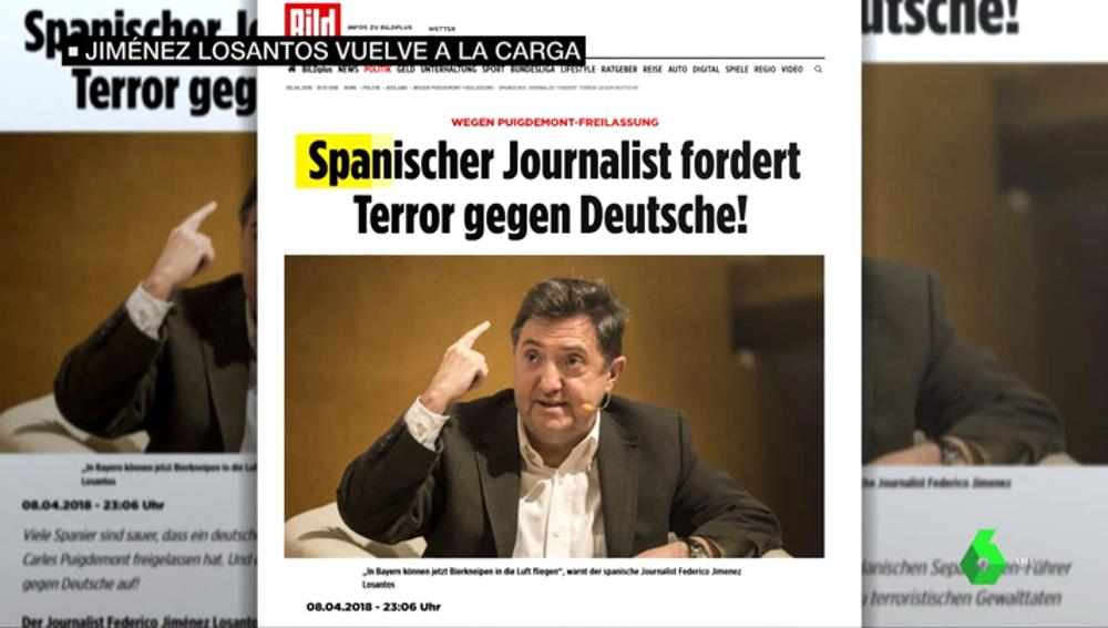 El sensacionalista 'Bild' pone el foco sobre Jiménez Losantos