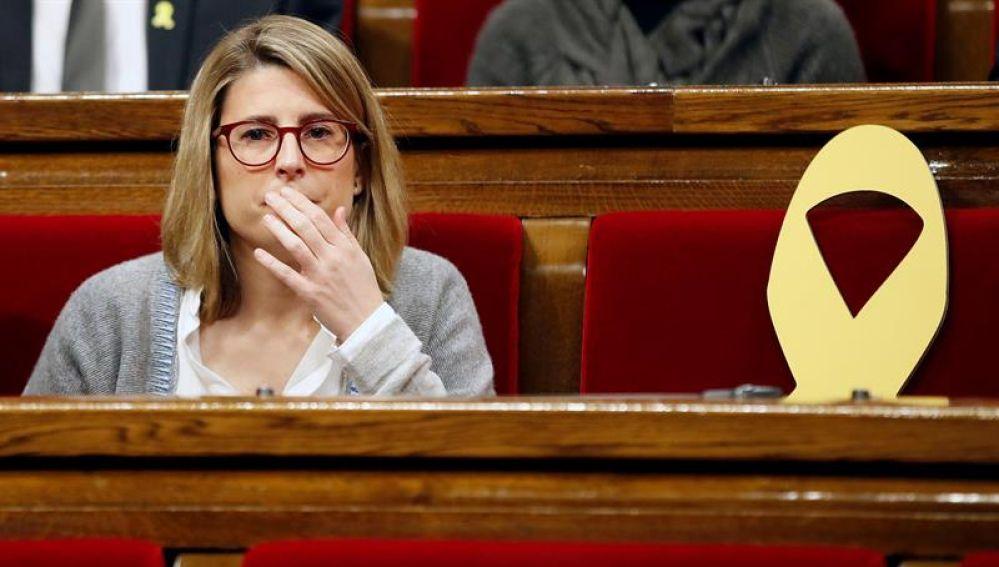 Elsa Artadi en el Parlament