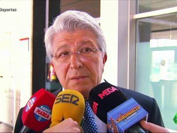 """Cerezo, sobre la decisión de Torres de dejar el Atlético: """"Yo me he enterado por la radio"""""""
