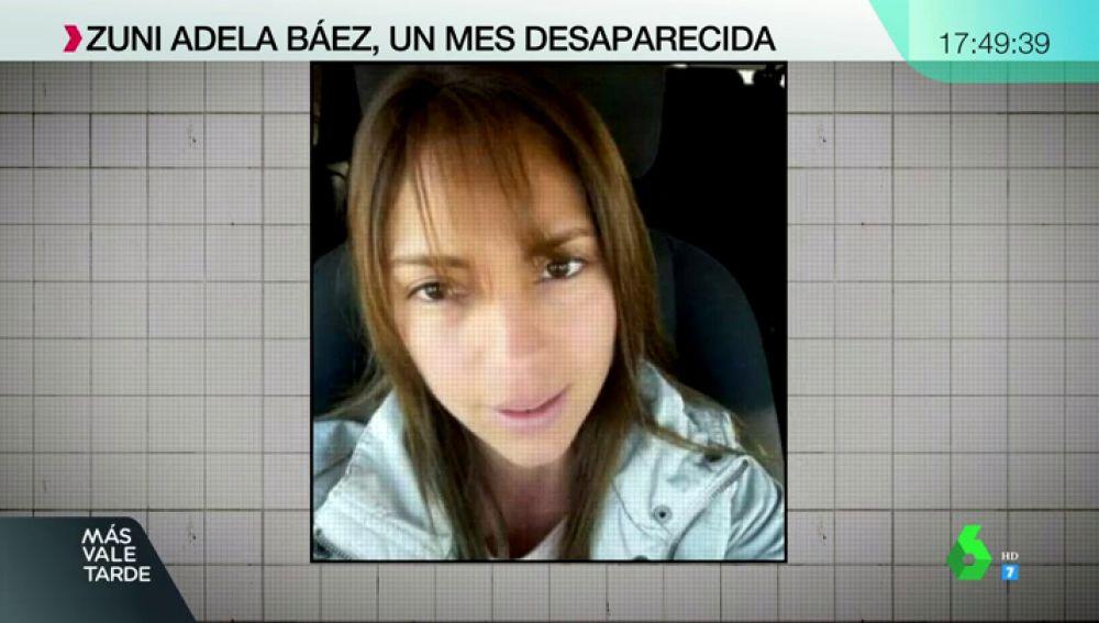 Zuni Adela Báez Mancuello, mujer desaparecida