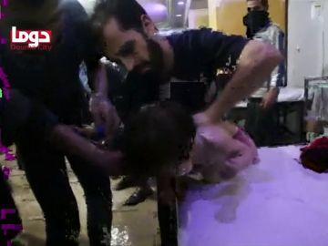 Posible ataque químico en Siria