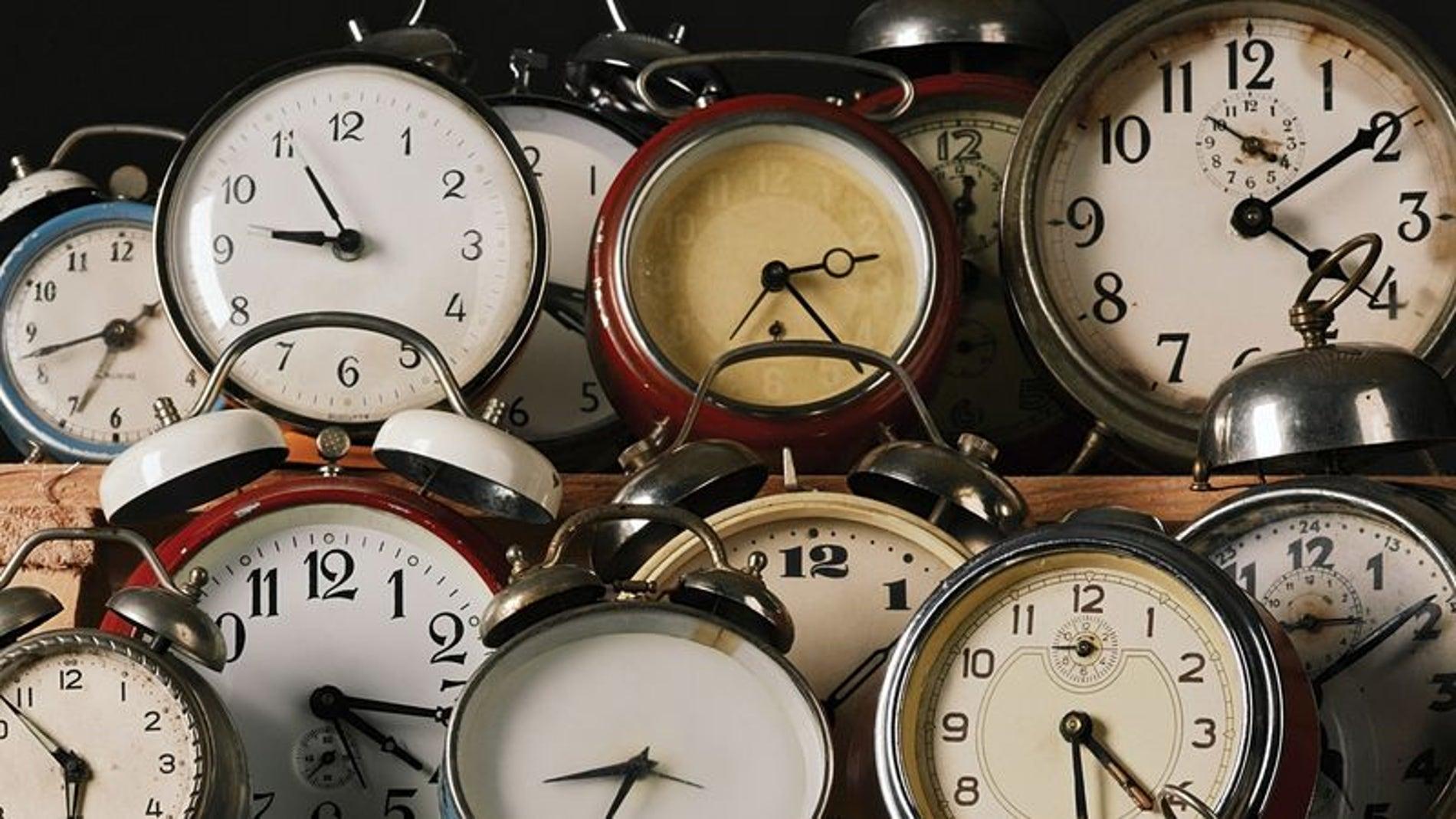 Imagen de archivo de relojes,