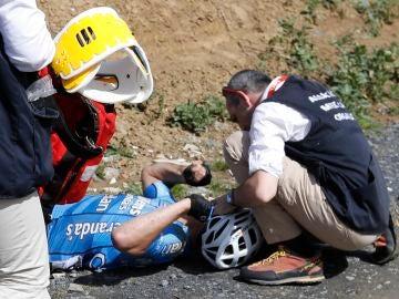 El ciclista belga Michael Goolaerts