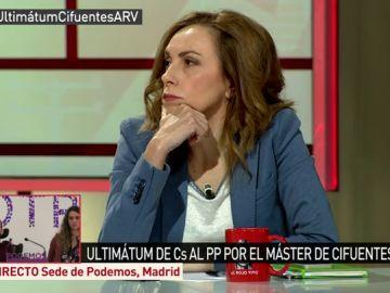 Angélica Rubio, directora de 'ElPlural.com'