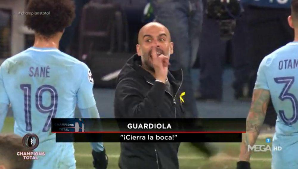 Así expulsó Mateu Lahoz a Guardiola