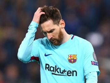 Leo Messi, tras caer eliminado