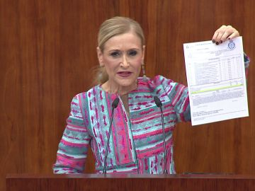 Cristina Cifuentes, laSexta Columna