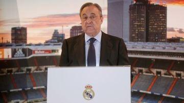 Florentino Pérez repasa la actualidad del Real Madrid