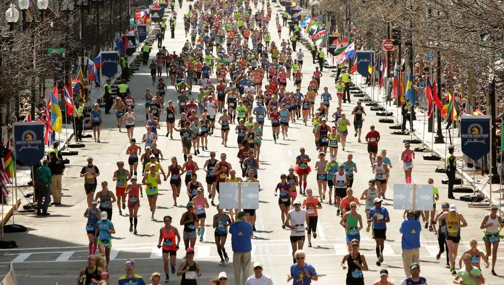 La maratón de Boston