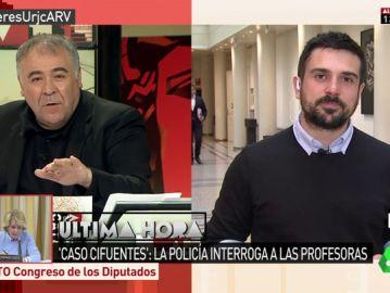 Ramón Espinar, secretario general de Podemos en Madrid