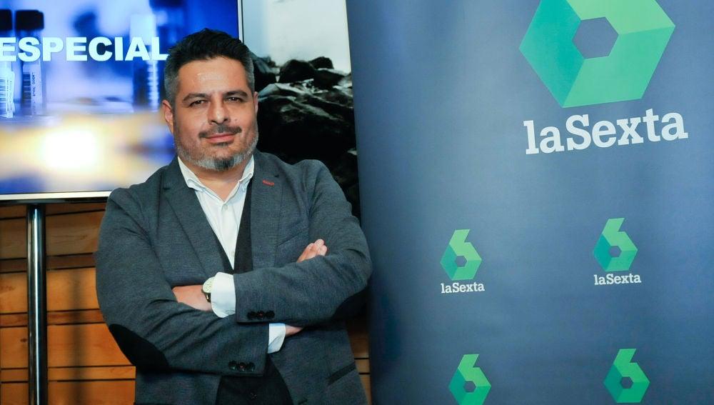 Jalis de la Serna, presentador de Enviado Especial