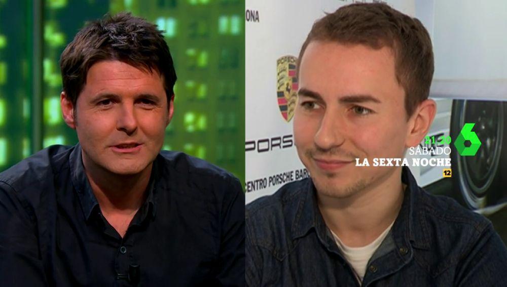 """Jesús Cintora y Jorge Lorenzo son """"dos hombres con un mismo destino"""": laSexta Noche"""