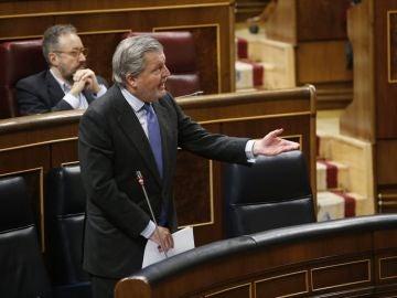 Íñigo Méndez de Vigo en el Congreso de los Diputados