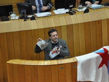 Luís Bará, diputado del BNG