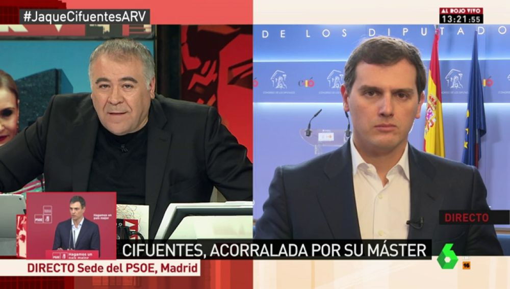 El presidente de Ciudadanos Albert Rivera