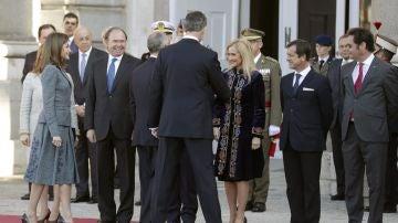 Cristina Cifuentes en un acto en el Palacio Real
