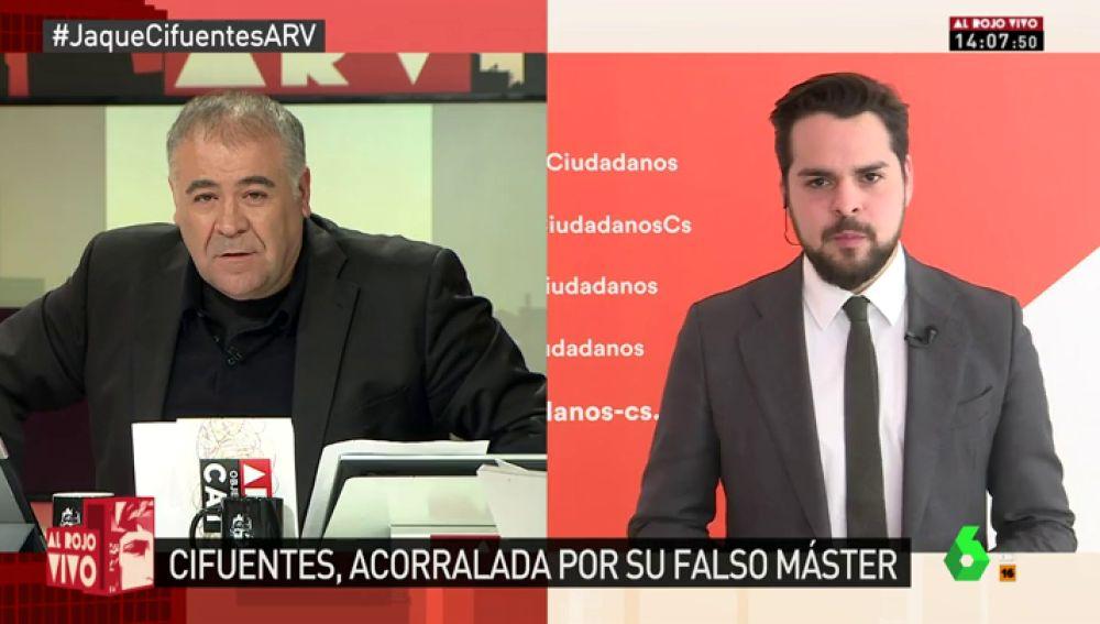 El secretario de Comunicación de Ciudadanos Fernando de Páramo