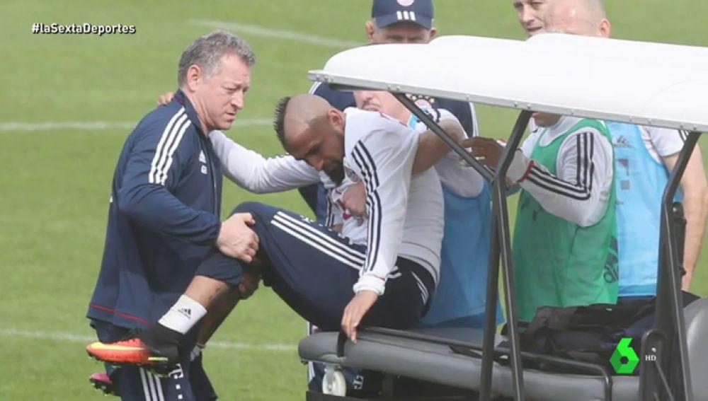 Arturo Vidal va a ser operado y está casi descartado ante el Real Madrid en Champions