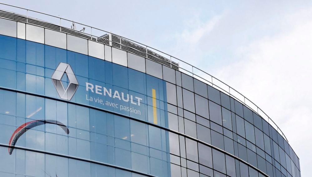Vista general de la sede del constructor francés de automóviles Renault en Boulogne Billancourt, cerca de París, Francia. EFE