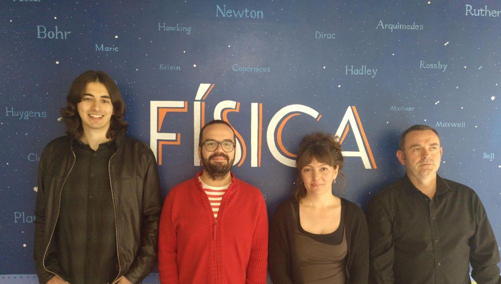 De izquierda a derecha: Jose María López-Romero, Pedro Jiménez Guerrero, Sonia Jerez y Juan Pedro Montávez.