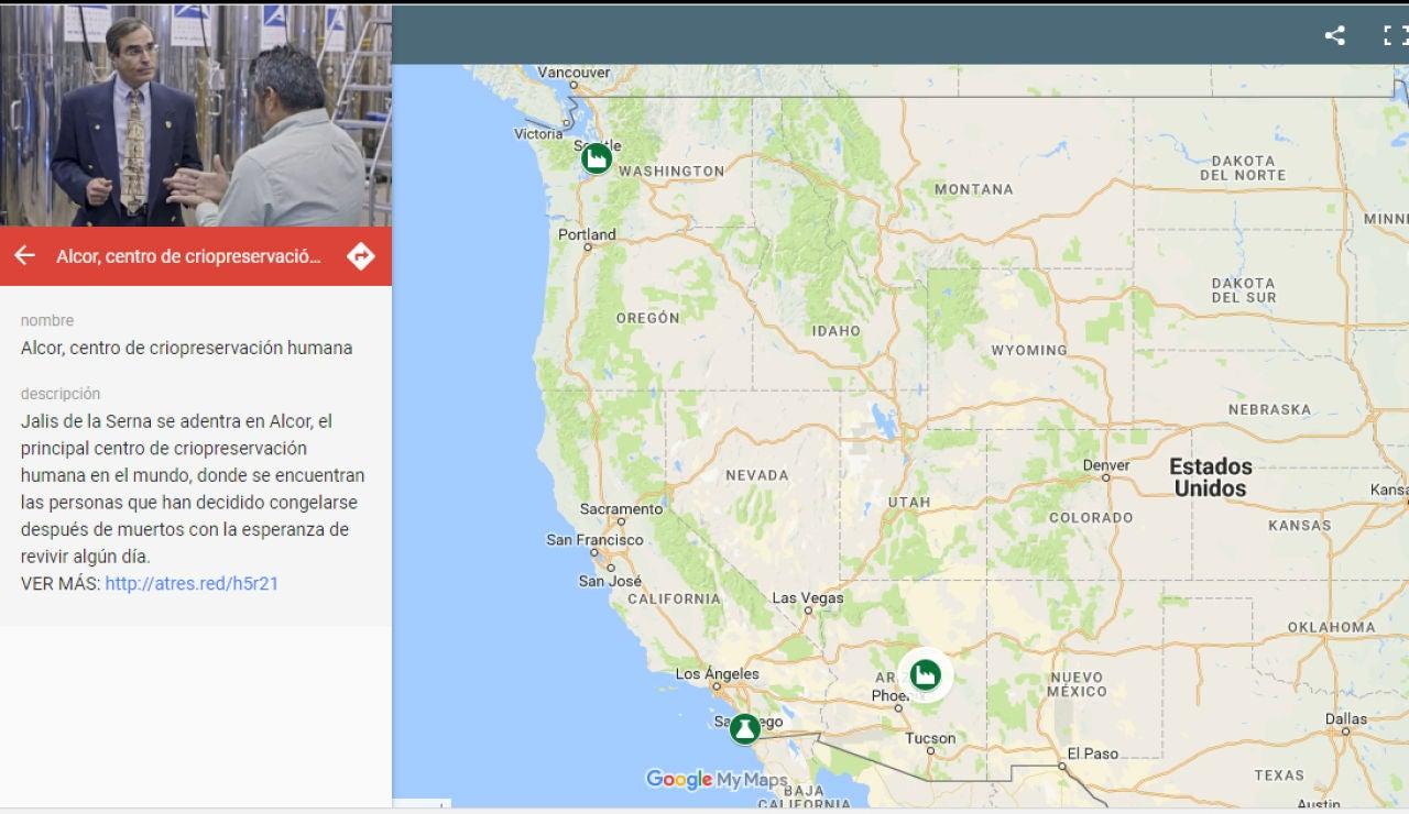 Mapa interactivo Enviado Especial