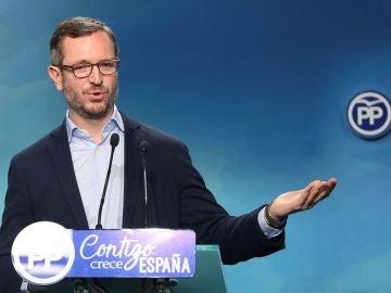 El vicesecretario de Política Social y Sectorial del PP, Javier Maroto