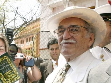 Gabriel García Márquez en una imagen de archivo