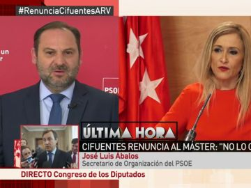 El secretario de Organización del PSOE, José Luis Abalos