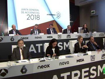 Junta de accionistas de Atresmedia