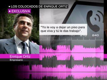 Audios del empresario Enrique Ortiz