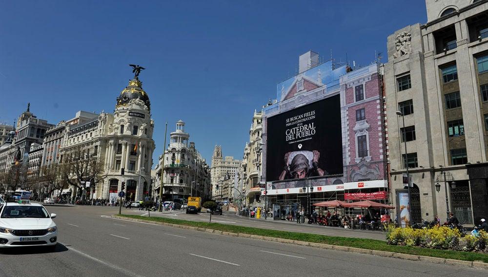 La Catedral del Mar busca fieles en pleno centro de Madrid