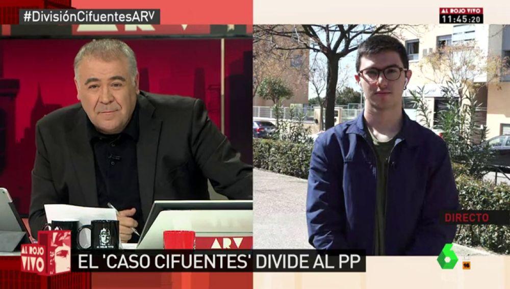 Rubén Hernández, miembro de 'ResPública'