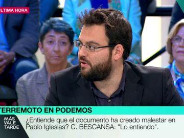 El periodista José Enrique Monrosi