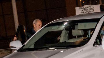 El empresario Bartolomé Cursach sale de la cárcel de Palma