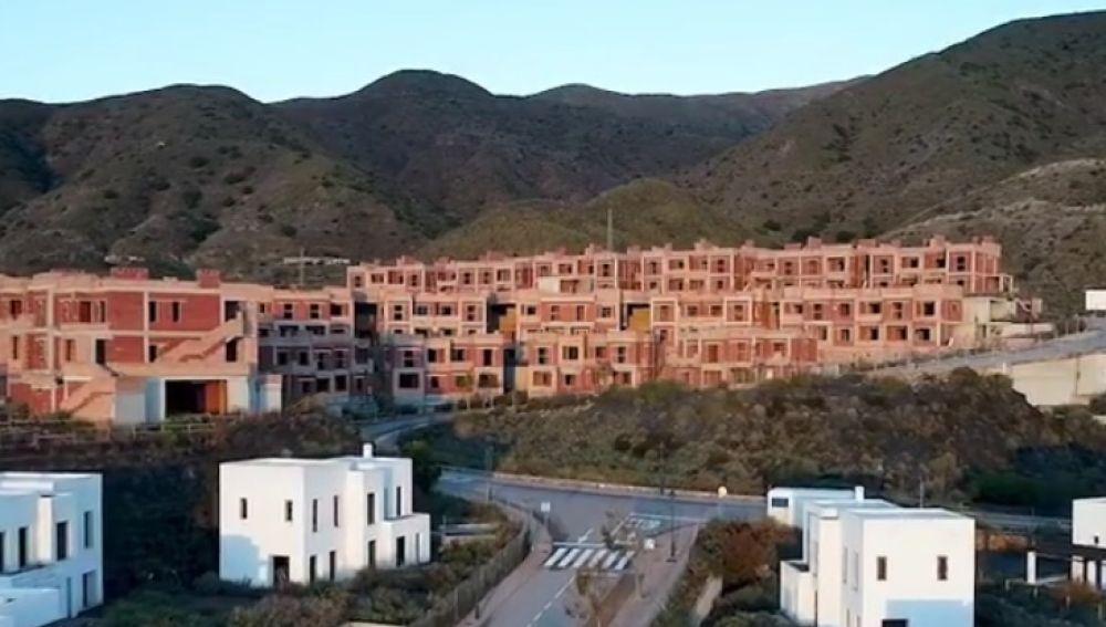 Ruinas de la burbuja inmobiliaria