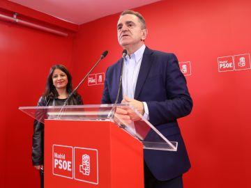 José Manuel Franco, secretario general del PSOE de Madrid