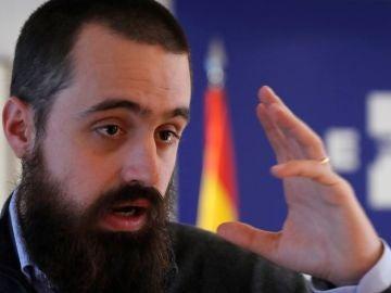 El portavoz de Tabarnia, el periodista Jaume Vives