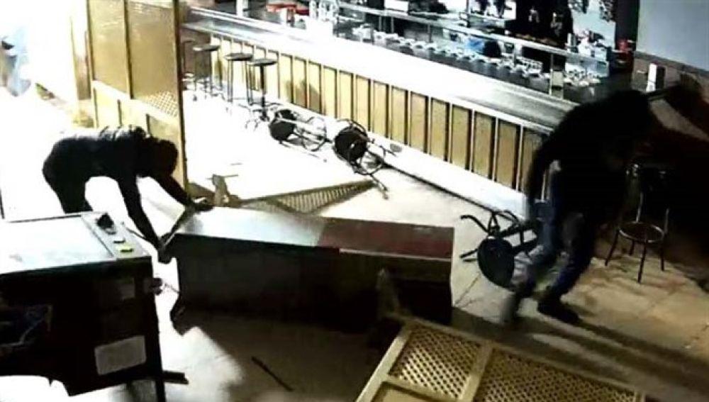Imagen de archivo de un robo violento