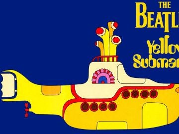 Submarino amarillo de The Beatles